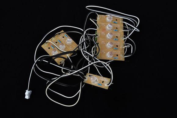Immagine di 9 strisce luci LED per cabine doccia Value 13-16