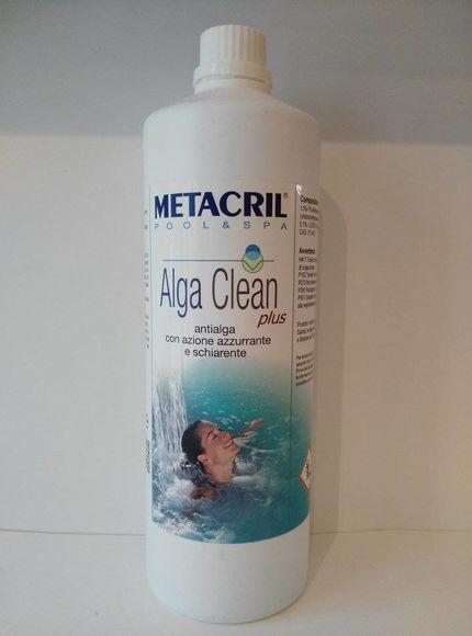 Immagine di Alga Clean Plus - Antialga azzurrante e schierante 1 lt 48001001 Metacril