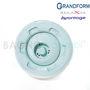 Immagine di Ricambio bocchetta idromassaggio per box doccia Grandform bianca 2 vie BOCHH2