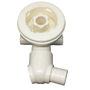 Immagine di Ricambio bocchetta idromassaggio bianca versione 2 per vasca Hafro 3874500