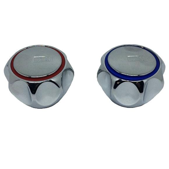 Immagine di Ricambio coppia maniglie acqua calda fredda per rubinetto Alfa Mamoli V0200010A001
