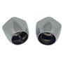 Immagine di Ricambio coppia maniglie acqua calda fredda per rubinetto Beta Mamoli V0200010B001