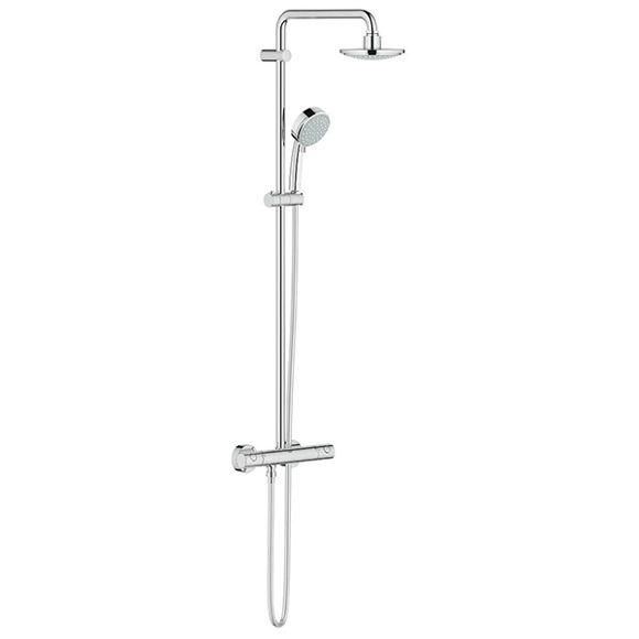 Immagine di Colonna doccia con miscelatore termostatico Grohe Tempesta Cosmopolitan 27922000