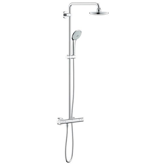 Immagine di Colonna doccia con miscelatore termostatico Grohe Euphoria System 180 27296001