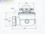 Picture of Ricambio piletta piatto doccia con drenaggio bagno turco Glass PIL5282