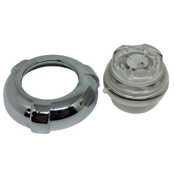 Picture of Ricambio ghiera con ugello cromo per bocchetta Teuco 81025261