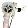 Picture of colonna scarico bianca con erogazione drenaggio SILFRA Teuco 81008481620 67.5cm