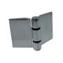 Immagine di Ricambio kit cerniera stile libero argento 2 pezzi Megius STLI009