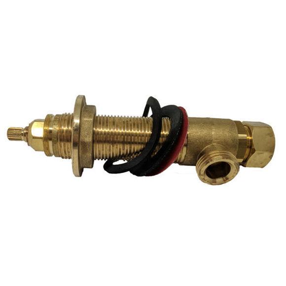 Immagine di Ricambio parte grezza con vitone per rubinetteria Da Da Zazzeri 4700-B105-A00-0000