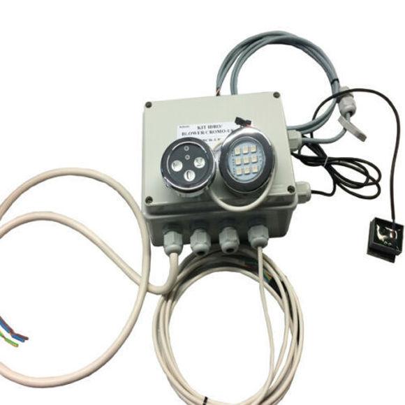 Immagine di Ricambio kit completo idro blower cromoterapia con display a membrana Albatros 10047800