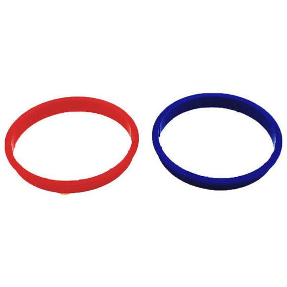 Picture of Ricambio set anelli acqua fredda e calda per maniglia Hansgrohe 96319000