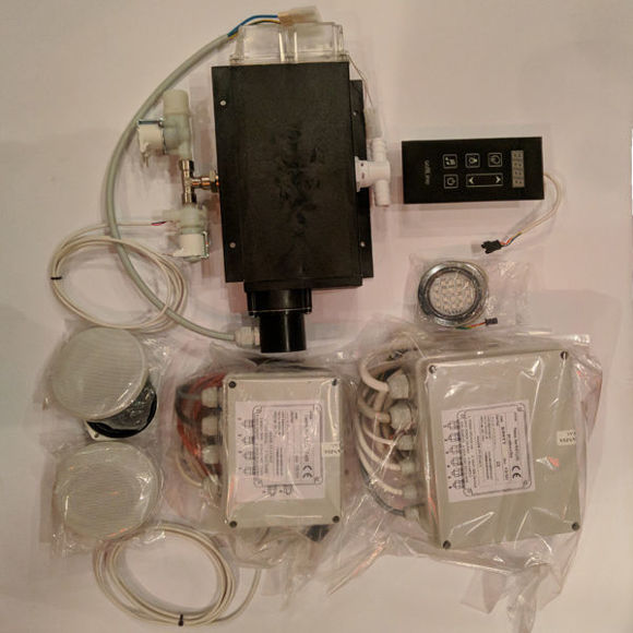 Picture of Kit bagno turco top touch con caldaia 4 Kw KITBT604