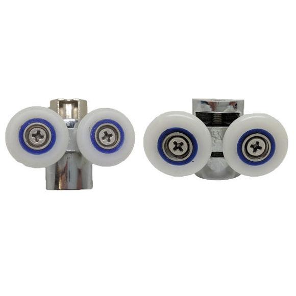Immagine di Ricambio coppia rotelle inferiore e superiore Value 50-358