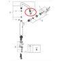 Immagine di Ricambio filtro aeratore mousseur M21.5X1 con chiave smontaggio Grohe 48270000