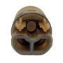 Picture of Ricambio cartuccia deviatrice con distributore e ghiera Nobili RCR201/70