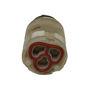 Picture of Ricambio cartuccia diametro 25 con asta Newform 11554.00.000