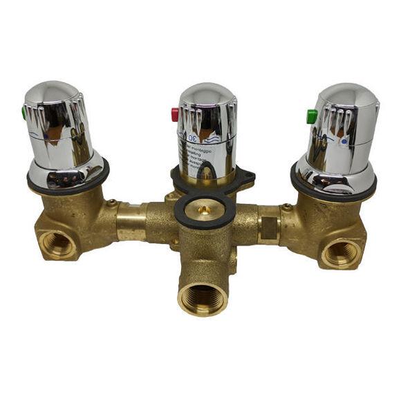 Picture of Ricambio rubinetteria termostatica 2 vie Grandform RUB2VBS