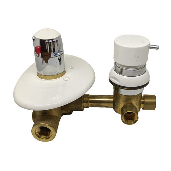 Immagine di Ricambio rubinetteria termostatica 3 vie Grandform RUB3VBS