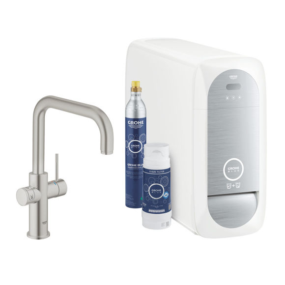 Picture of GROHE BLUE HOME STARTER KIT 31456DC1 RUBINETTO DEPURATORE