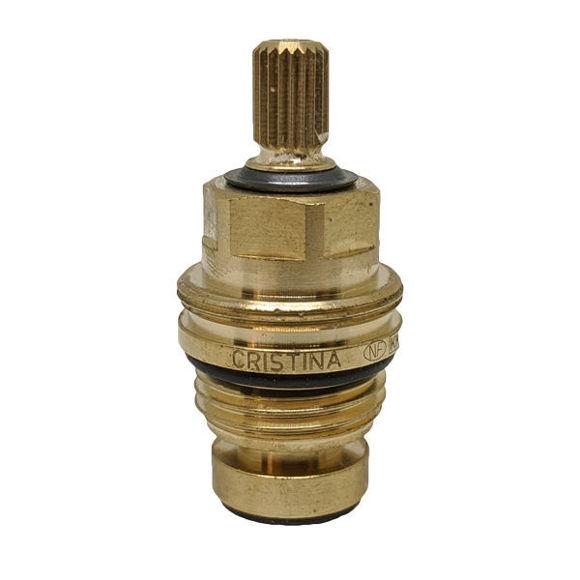 """Immagine di Ricambio vitone 1/2"""" 8x20 flush per rubinetteria CRISTINA CRIVT1836Q00"""
