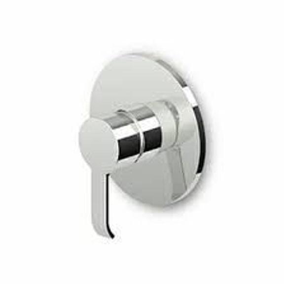 Immagine di Zucchetti On Miscelatore monocomando doccia incasso ZON122 solo parte esterna