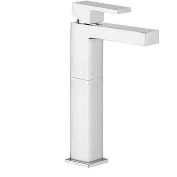 Immagine di Monocomando rubinetto lavabo cucina Alto salterello lusso Giulini Pablolux 9839A