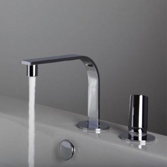 Immagine di Miscelatore lavabo a due fori Elle Bonomi 113000/F