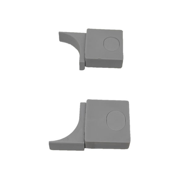 Picture of Ricambio coppia superiore e inferiore fermaporta Megius ALIV009/R