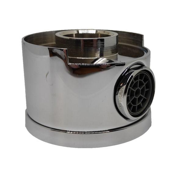 Immagine di Ricambio bocca erogazione in ottone con aeratore Silfra SIL9651