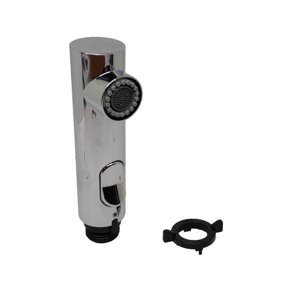 Immagine di Ricambio doccetta estraibile cromo per miscelatore Gessi SP00450.031