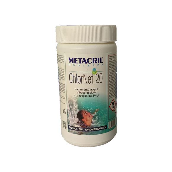 Picture of ChlorNet 20 trattamento acqua a base di cloro 1kg Metacril 41501001