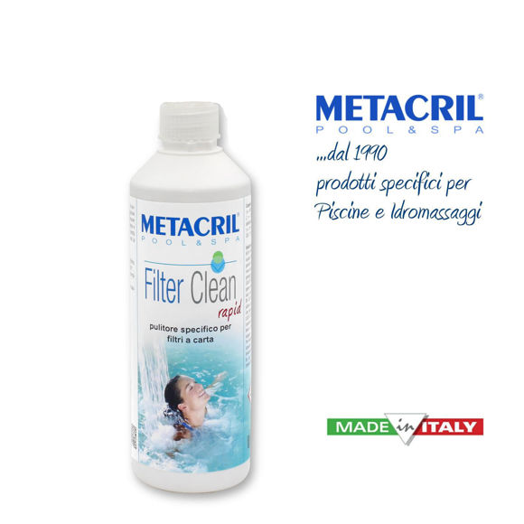 Picture of Filter Clean Rapid 500ml Metacril 519 00501